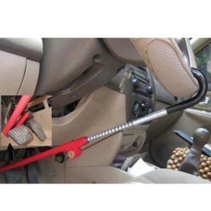 Механическое противоугонное устройство на руль