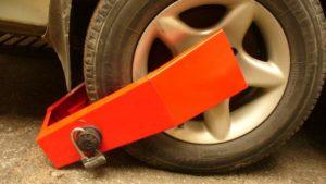 Механические системы против угона автомобиля