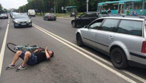 Наезд на пешехода без причинения вреда здоровью