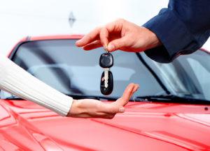 покупке нового автомобиля