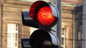 Проезд красного сигнала