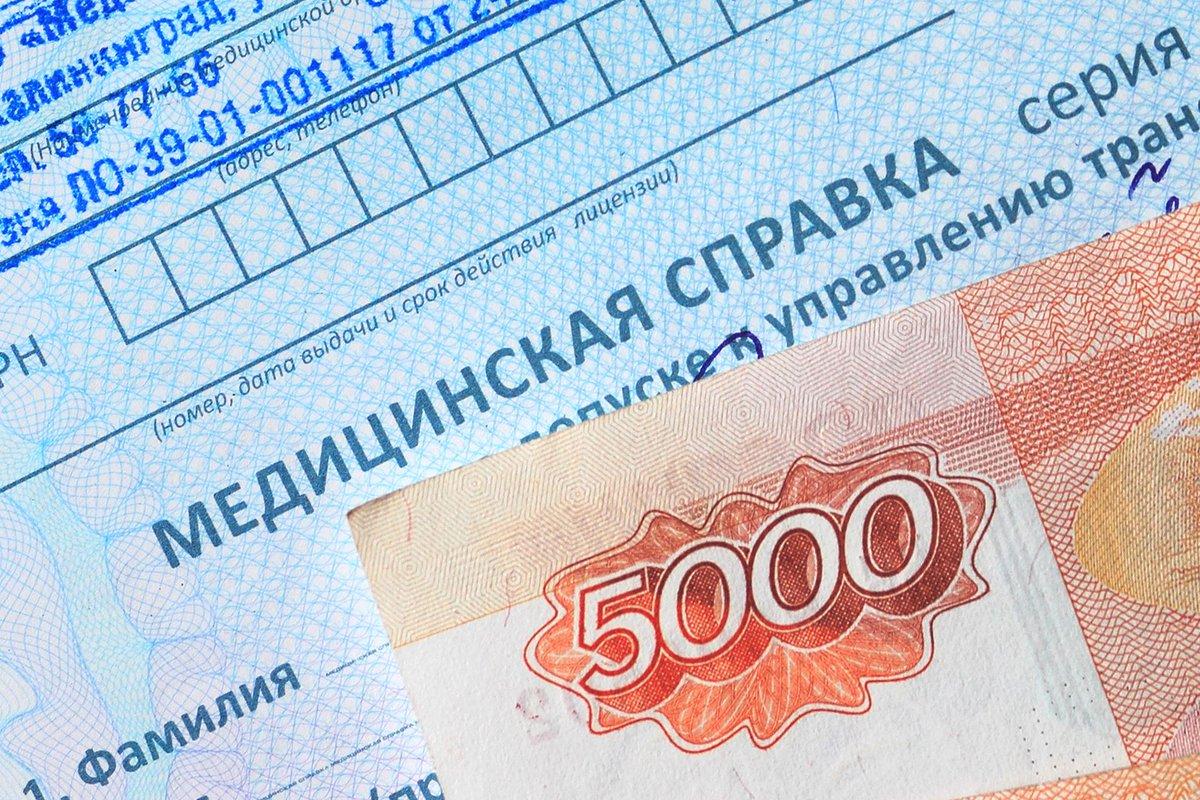 Получение справки для водительских прав в поликлинике Электрогорск