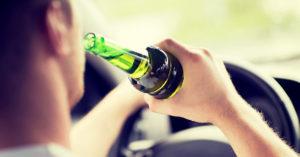 водителя в состоянии алкогольного опьянения