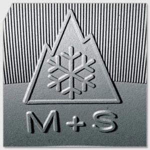 Зимние шины маркируются знаком в виде горной вершины