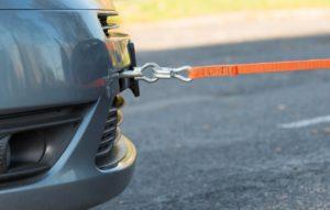 буксировки автомобиля Гибкая сцепка