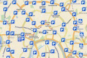 карту парковок Москвы