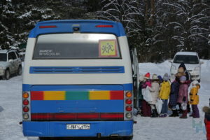 Как перевозить детей на транспорте