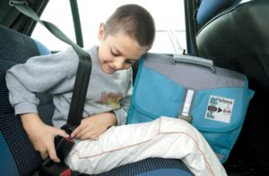 Расположение детских ремней безопасности