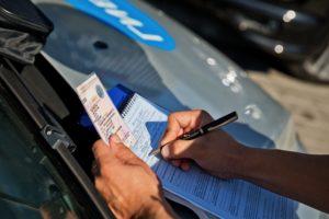 штраф, изъятие водительских прав