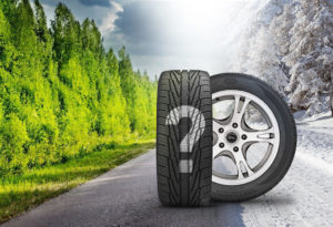 Состав резиновой смеси делает летнюю шину абсолютно непригодной для езды по зимней дороге