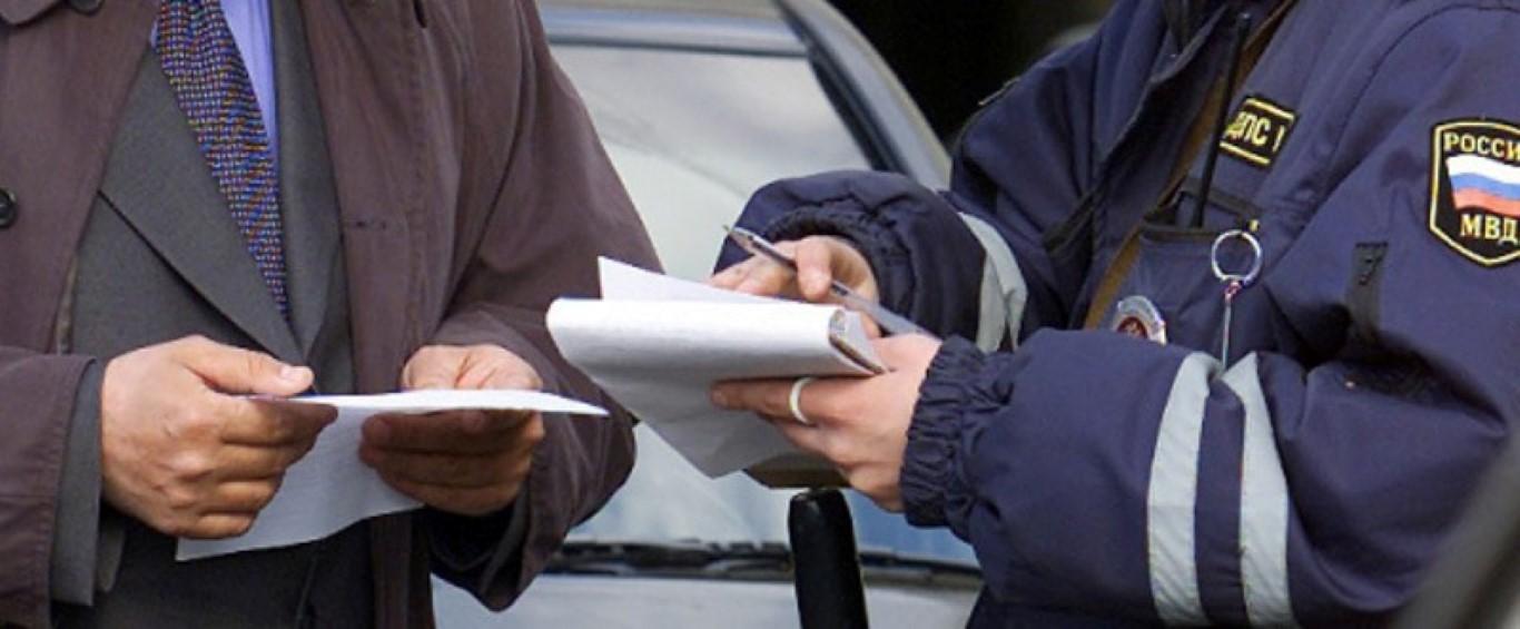 Штраф за управление авто без страховки