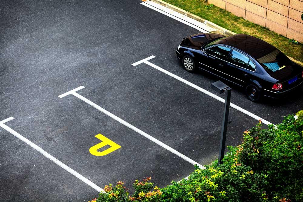 Размеры разметки на парковке стандарт